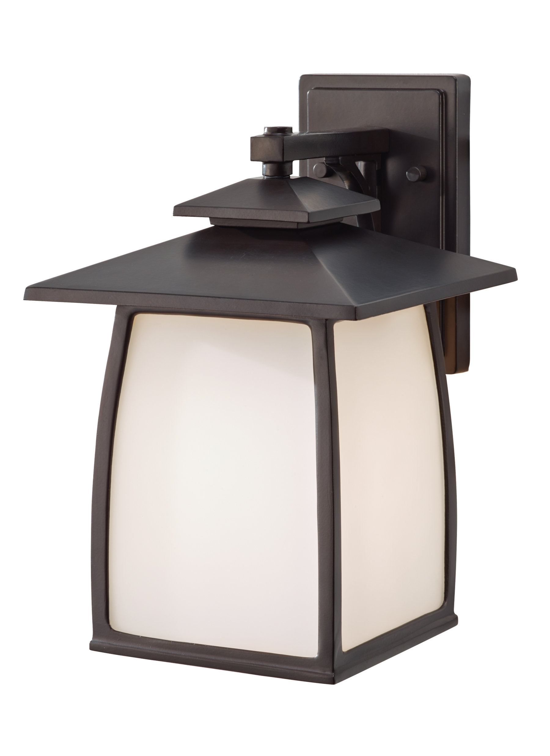 Ol8502orb,1 – Light Outdoor Lantern,oil Rubbed Bronze With Regard To Outdoor Lanterns With Led Lights (View 5 of 20)