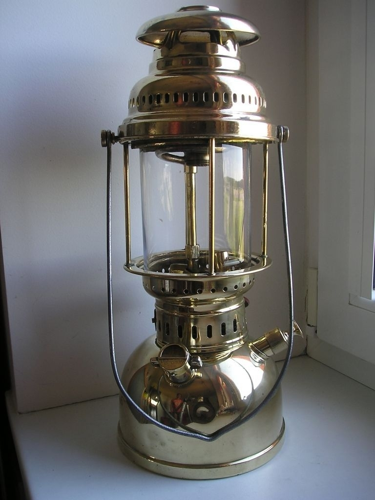 Old Kerosene Lanterns | Antique German Kerosene Lantern Gas Lamp in Outdoor Kerosene Lanterns (Image 16 of 20)