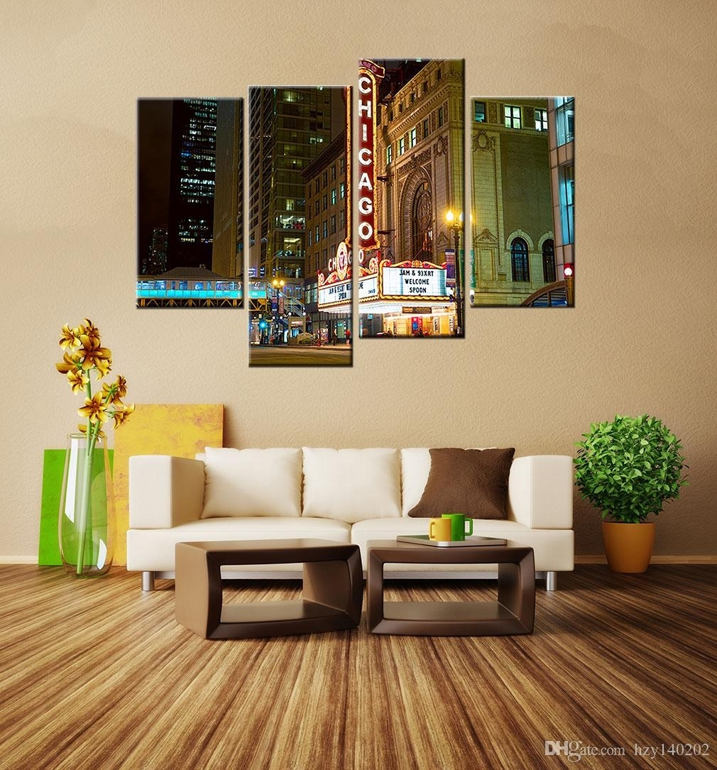Online Cheap Yijiahe Landscape Print Canvas Painting Art Street for Corner Wall Art (Image 18 of 20)