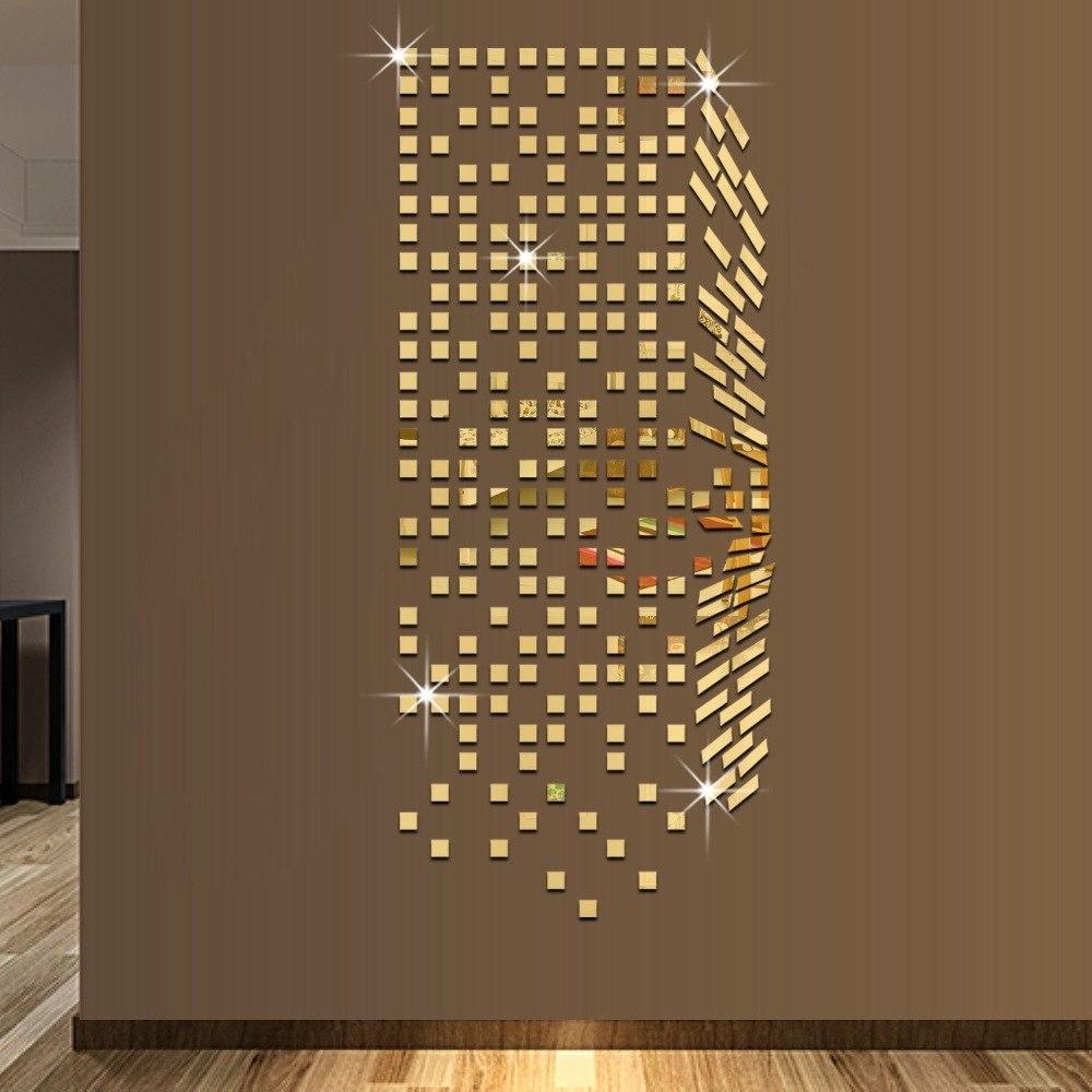 Online Get Cheap Mosaic Wall Mirror Aliexpresscom Alibaba Group For Mirror Mosaic Wall Art (View 7 of 20)