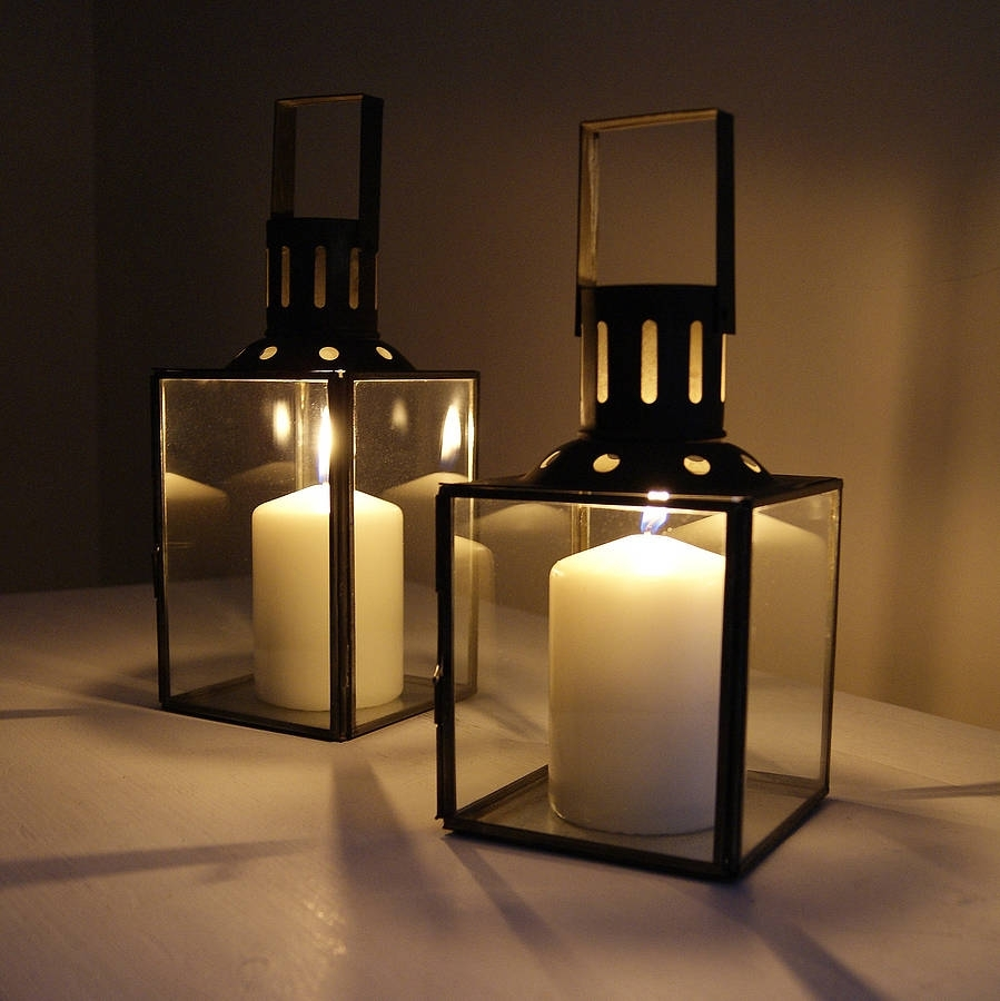 Outdoor Candle Hurricane Lamps - Outdoor Lighting for Outdoor Hurricane Lanterns (Image 13 of 20)