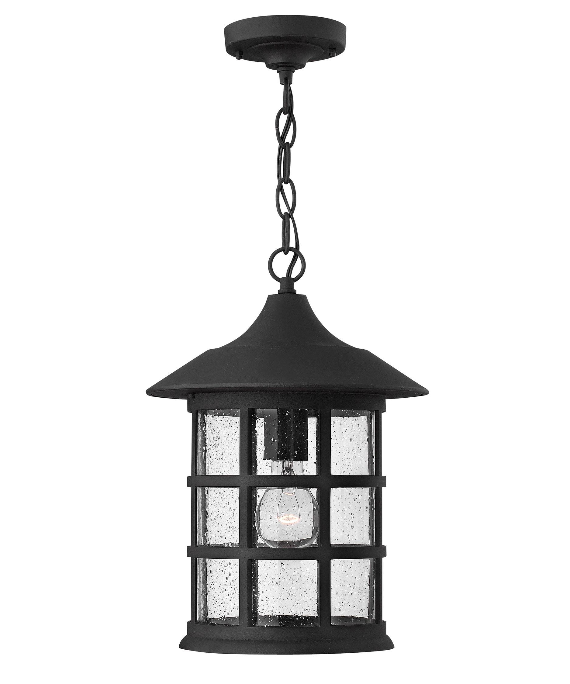 Outdoor Ceiling Lights: Hanging, Flush-Mount Lights in Outdoor Hanging Electric Lanterns (Image 15 of 20)