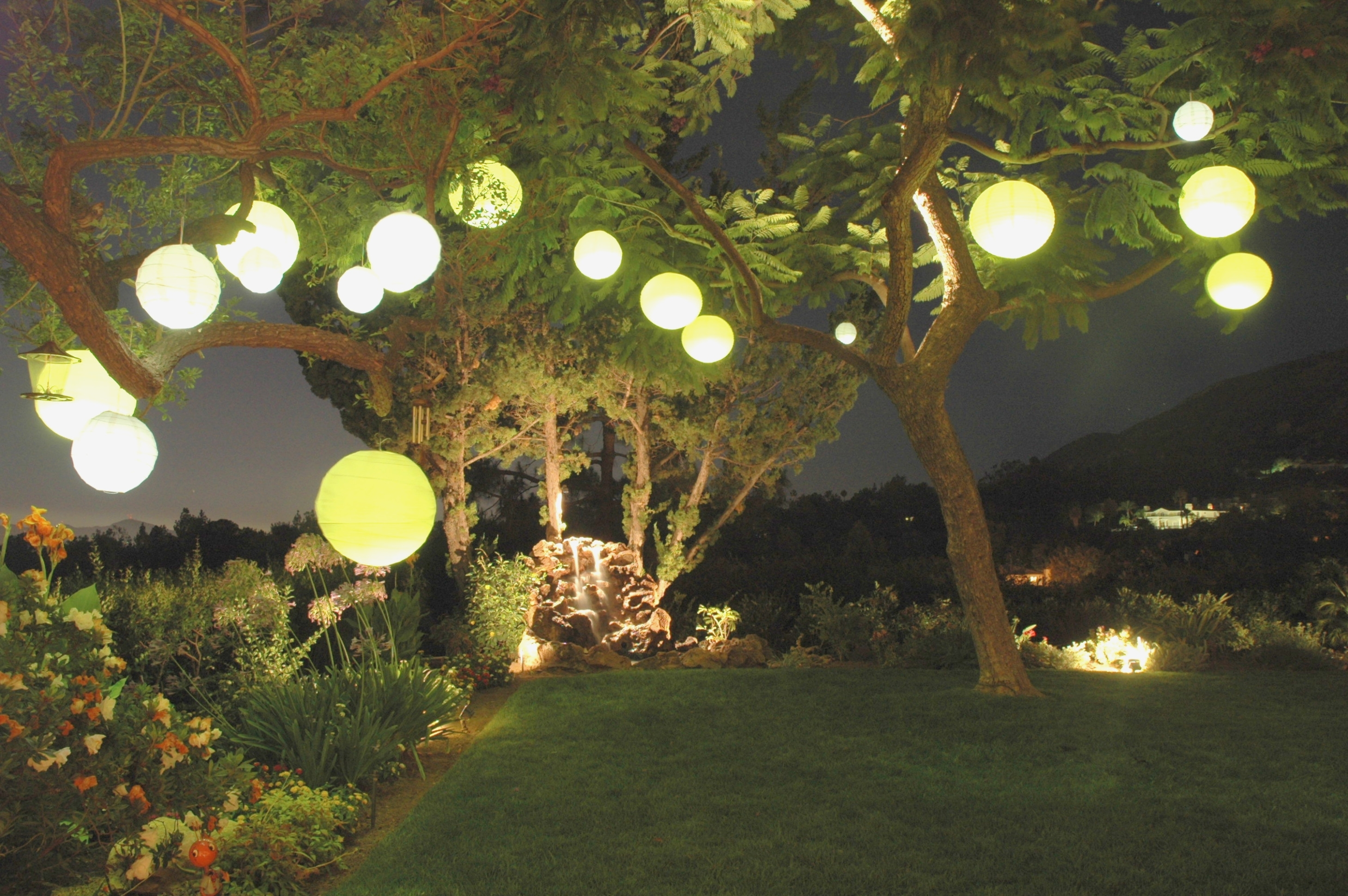 Outdoor Chinese Lantern String Lights – Outdoor Designs – Plastic regarding Outdoor Nylon Lanterns (Image 10 of 20)