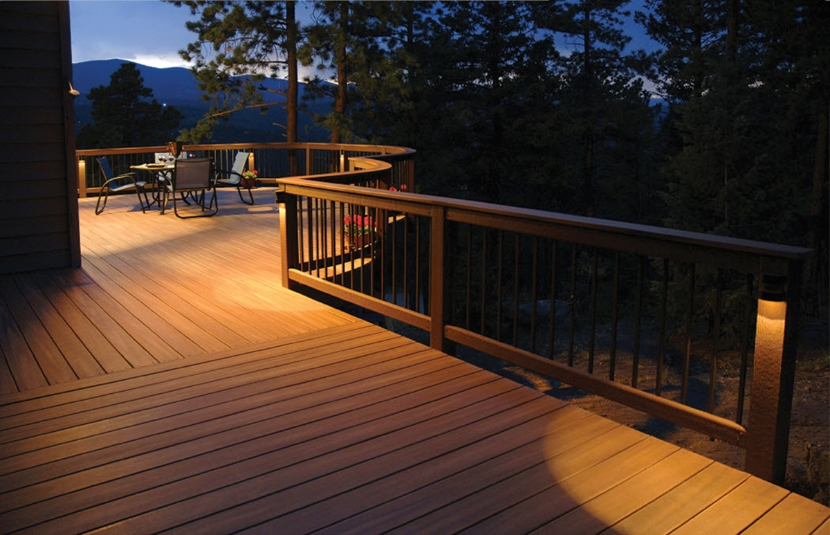 Outdoor Deck Lighting Info : Lovely Outdoor Deck Lighting – Home regarding Outdoor Deck Lanterns (Image 13 of 20)