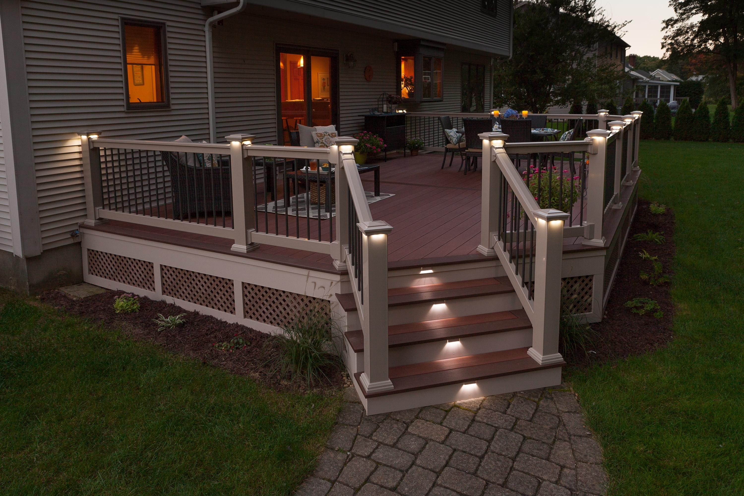 Outdoor Deck Lighting - Outdoor Lighting Ideas with Outdoor Deck Lanterns (Image 11 of 20)