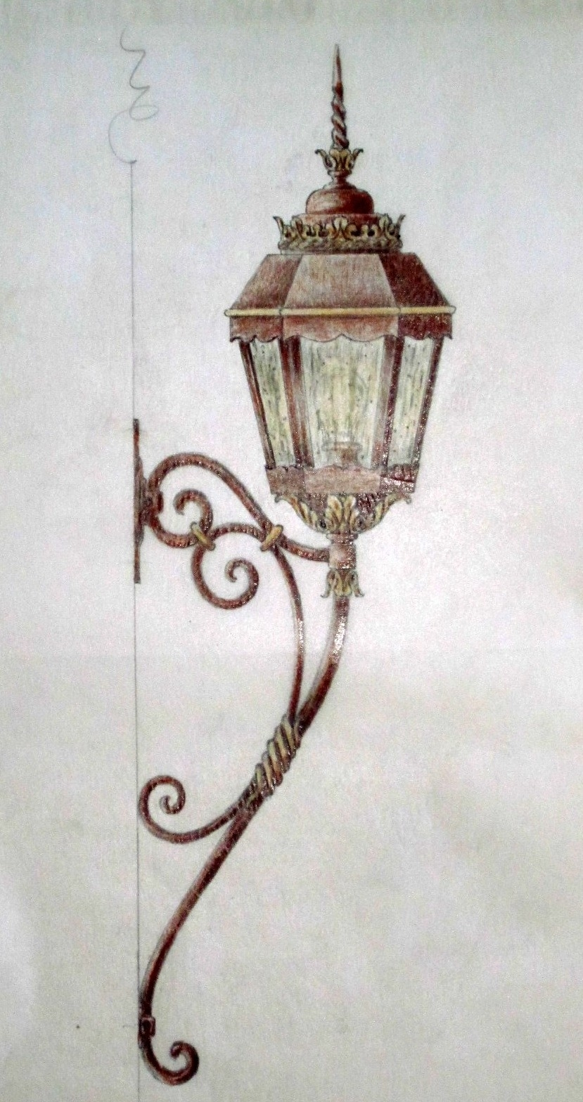 Outdoor Exterior Lanterns – Customlightstyles With Regard To Outdoor Mounted Lanterns (View 10 of 20)
