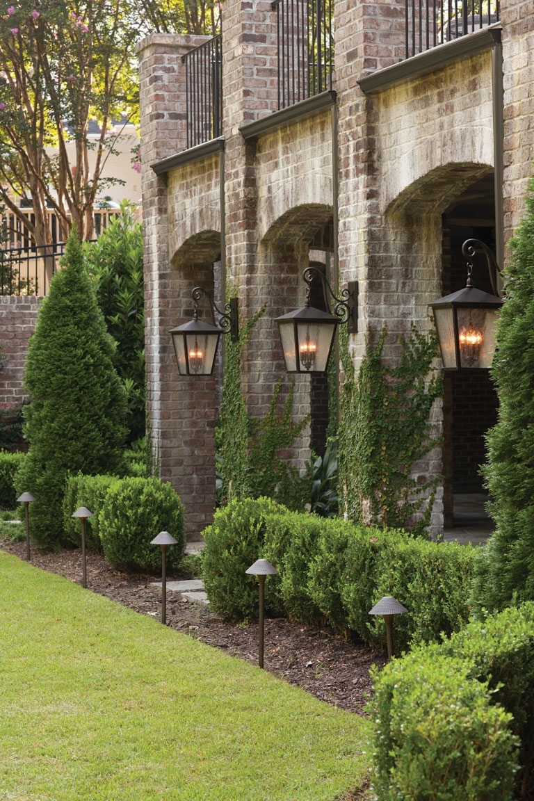 Outdoor & Exterior Lighting Fixtures For Garages, Porches, And Yards within Elegant Outdoor Lanterns (Image 10 of 20)