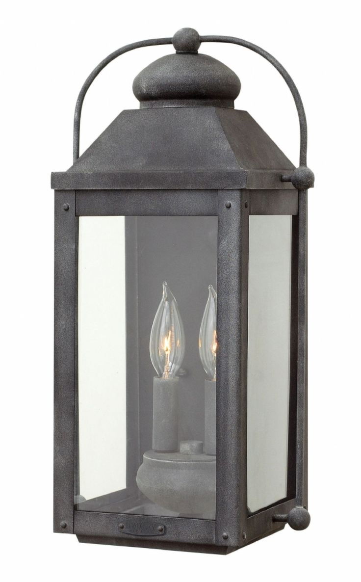 Outdoor Farmhouse Lights Pottery Barn Hanging Pendant Garage Black inside Outdoor Lanterns At Pottery Barn (Image 10 of 20)