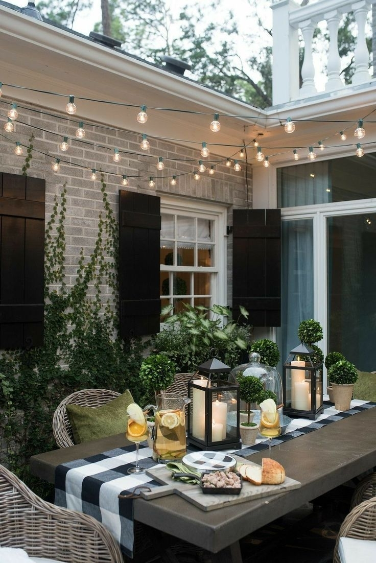 Outdoor Fire Pit, Outdoor Table, Outdoor Dining, Outdoor Throughout Outdoor Dining Lanterns (View 3 of 20)