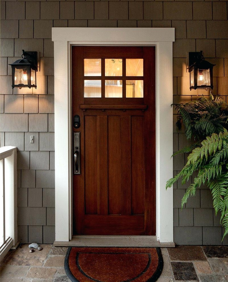 Outdoor Front Door Lighting Entry Lights Image Collections Overhead regarding Outdoor Door Lanterns (Image 17 of 20)