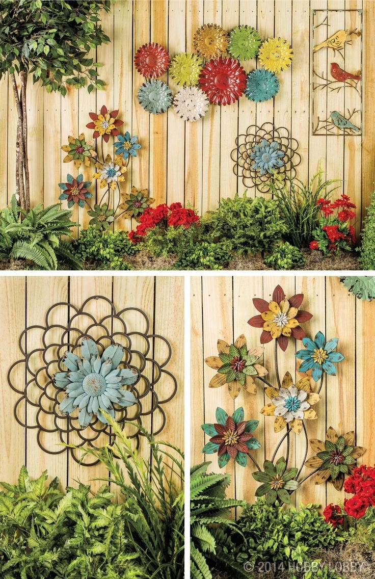 Outdoor Garden Wall Garden – Champsbahrain Intended For Outdoor Wall Art Decors (View 8 of 20)