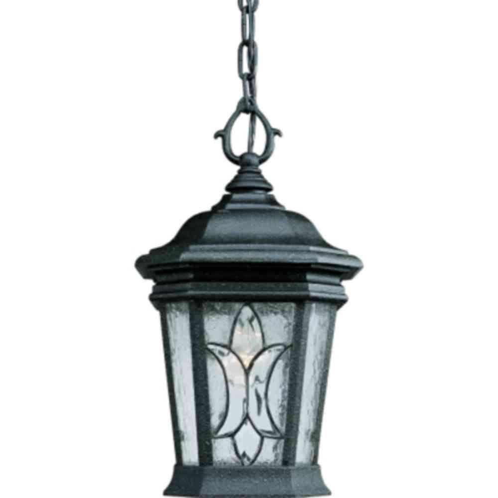 Outdoor Hanging Lights – Outdoor Ceiling Lighting – The Home Depot Pertaining To Xl Outdoor Lanterns (View 6 of 20)