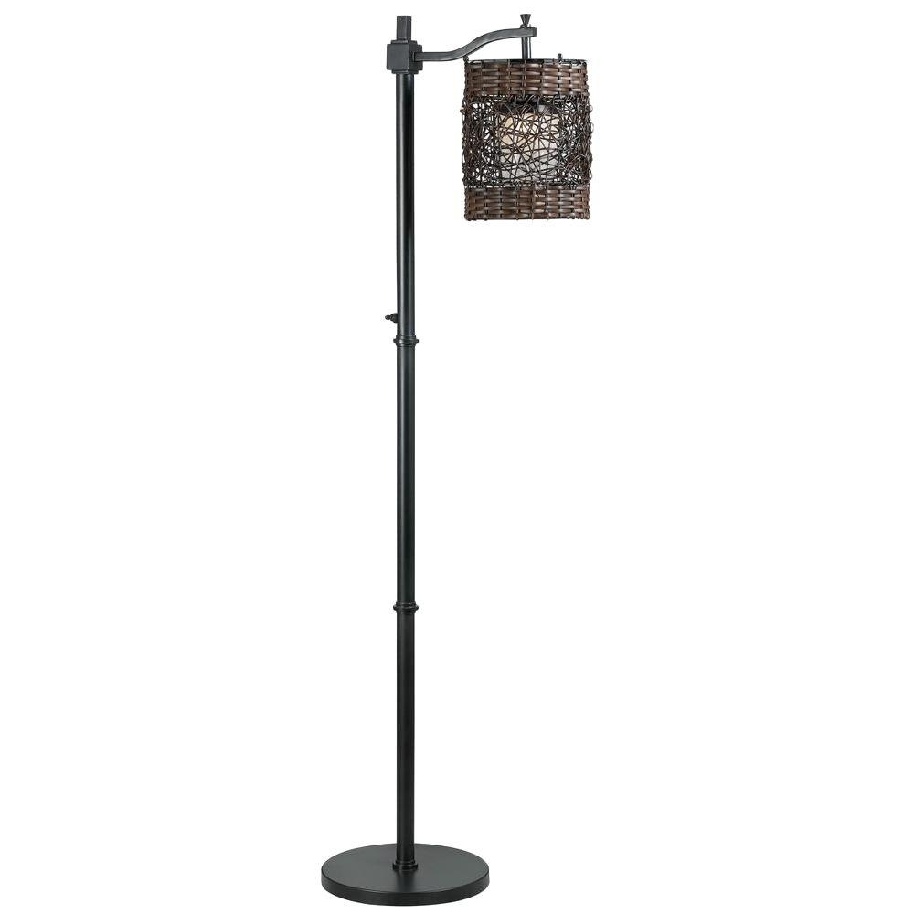 Outdoor Lamps - Outdoor Lighting - The Home Depot for Outdoor Lanterns On Stands (Image 10 of 20)