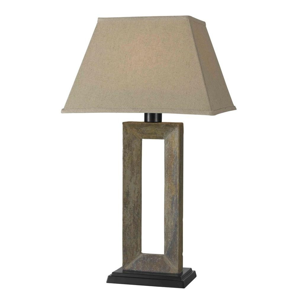 Outdoor Lamps – Outdoor Lighting – The Home Depot With Red Outdoor Table Lanterns (View 13 of 20)