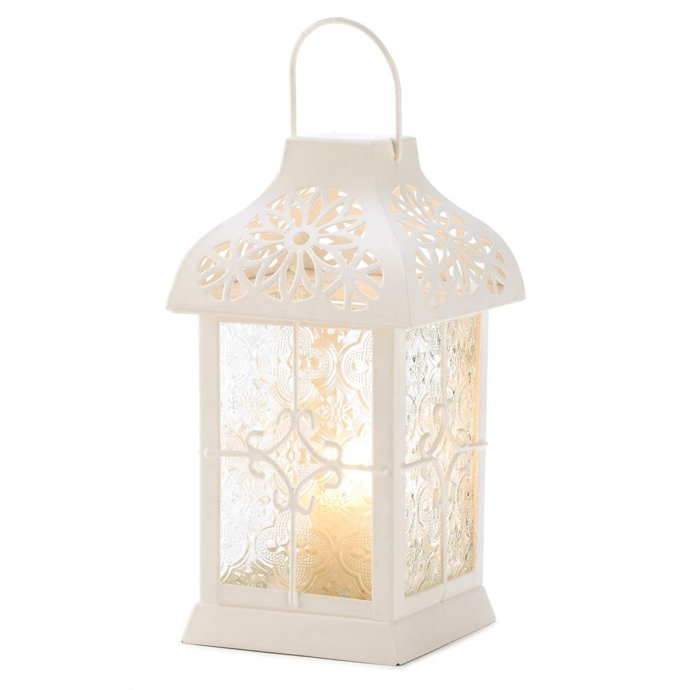 Outdoor Lanterns, Daisy Gazebo Metal Decorative Floor Patio Lantern within Outdoor Gazebo Lanterns (Image 17 of 20)