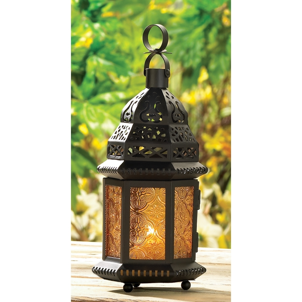 Outdoor Lanterns | Moroccan Lanterns, Candle Holders, & More pertaining to Outdoor Lanterns And Votives (Image 15 of 20)