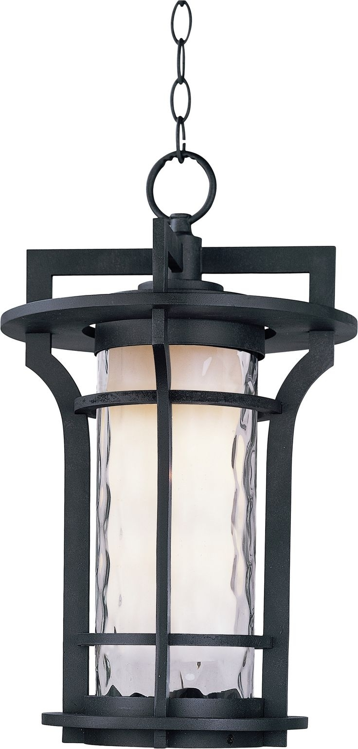 Outdoor Led Chandelier Front Porch Pendant Light Oversized Lanterns regarding Outdoor Oversized Lanterns (Image 13 of 20)