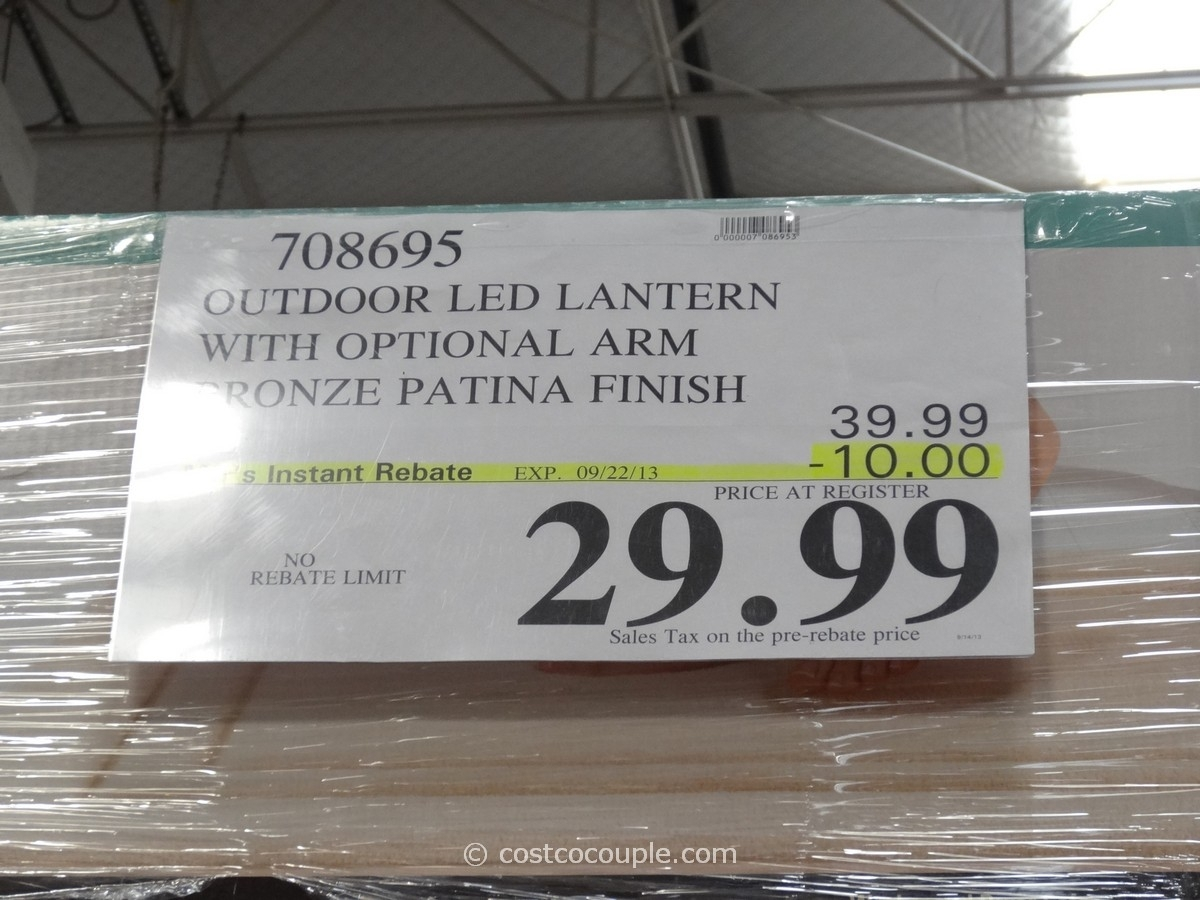 Outdoor Led Lantern Inside Outdoor Lanterns At Costco (View 17 of 20)