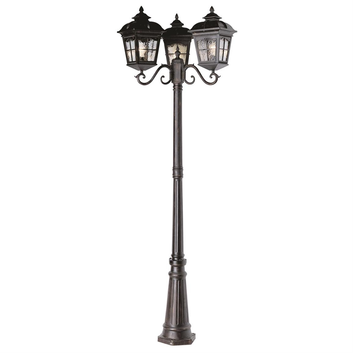 Outdoor Light : Thrift Outdoor Pole Barn Lighting , Outdoor intended for Outdoor Pole Lanterns (Image 14 of 20)