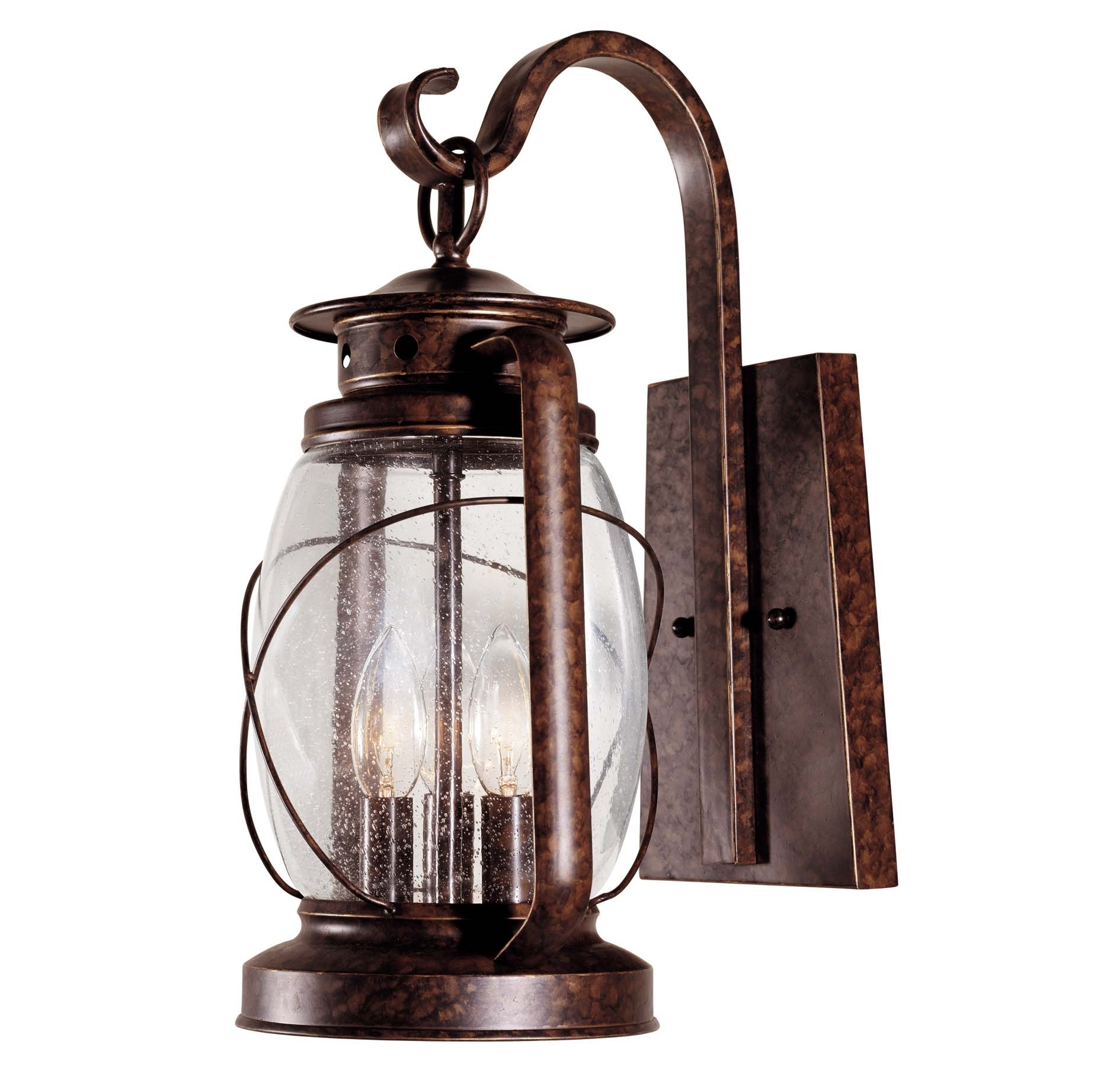 Outdoor Light With Outlet Plug Porch Fixtures Lighting Exterior For Outdoor Electric Lanterns (View 12 of 20)