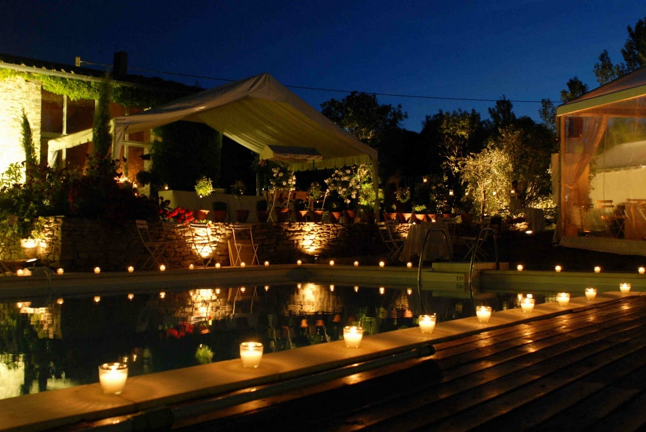 Outdoor Lighting Around Pool – Outdoor Lighting Ideas Inside Outdoor Lanterns For Poolside (View 14 of 20)