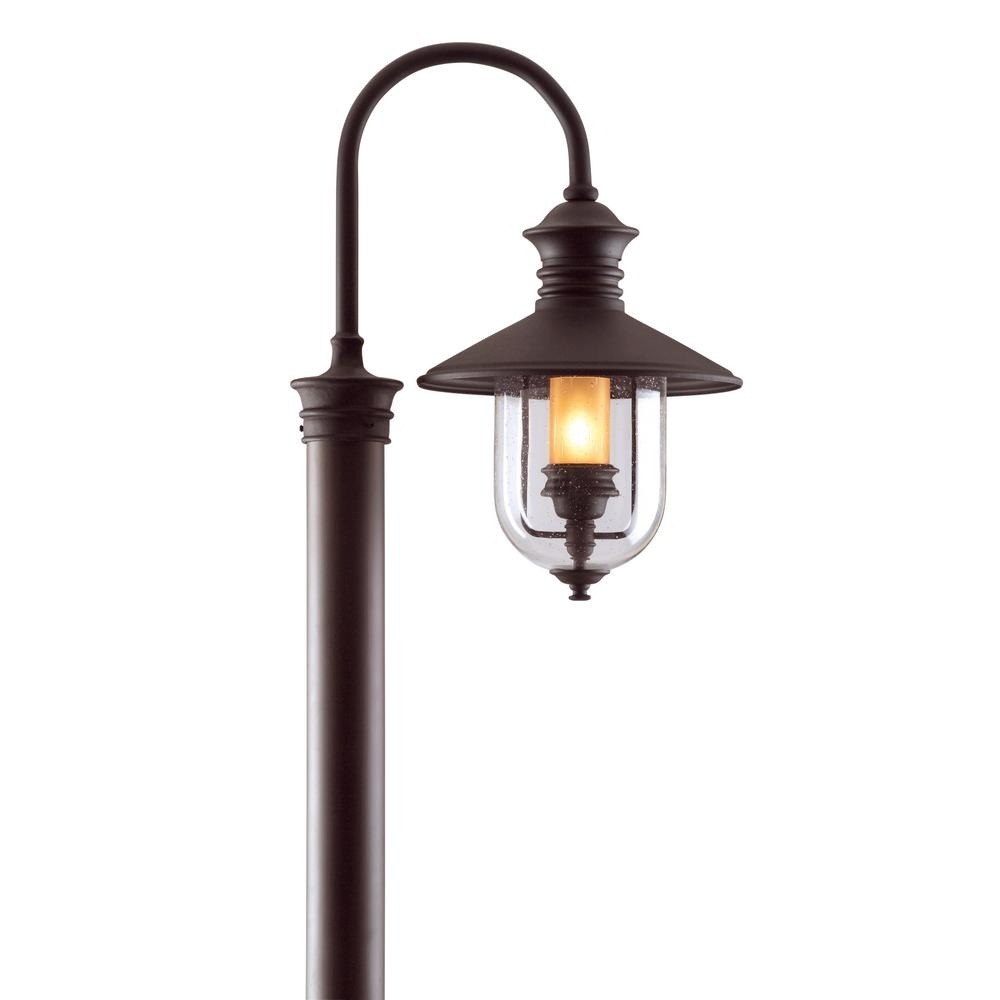 Outdoor Lighting Post Lamps - Outdoor Lighting Ideas throughout Outdoor Lanterns On Post (Image 15 of 20)