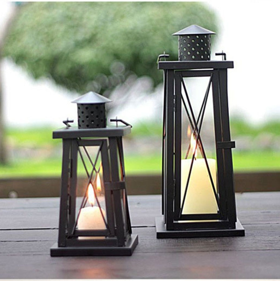 Outdoor Lighting Wall Lamp Led Modern Bedroom Decorative Candle inside Outdoor Lanterns On Stands (Image 13 of 20)