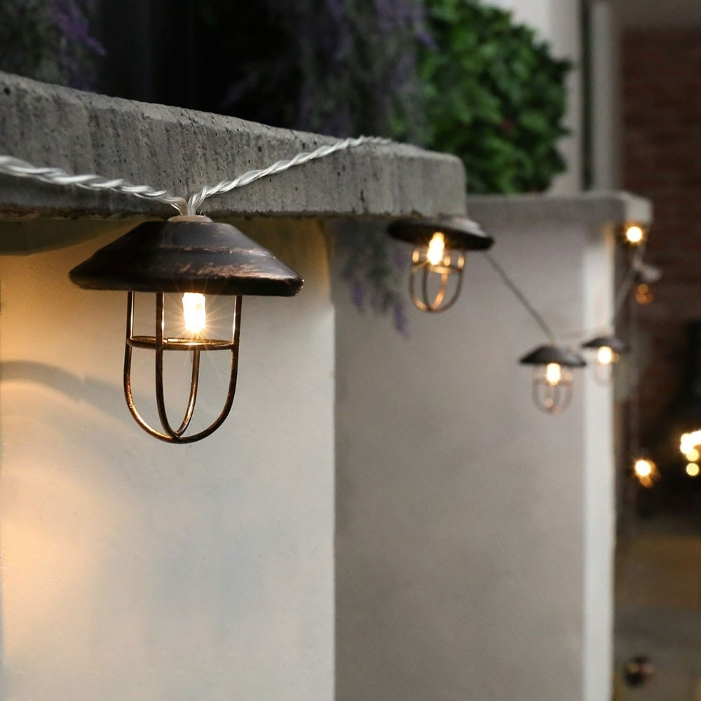 Popular Photo of Outdoor Lanterns With Battery Operated