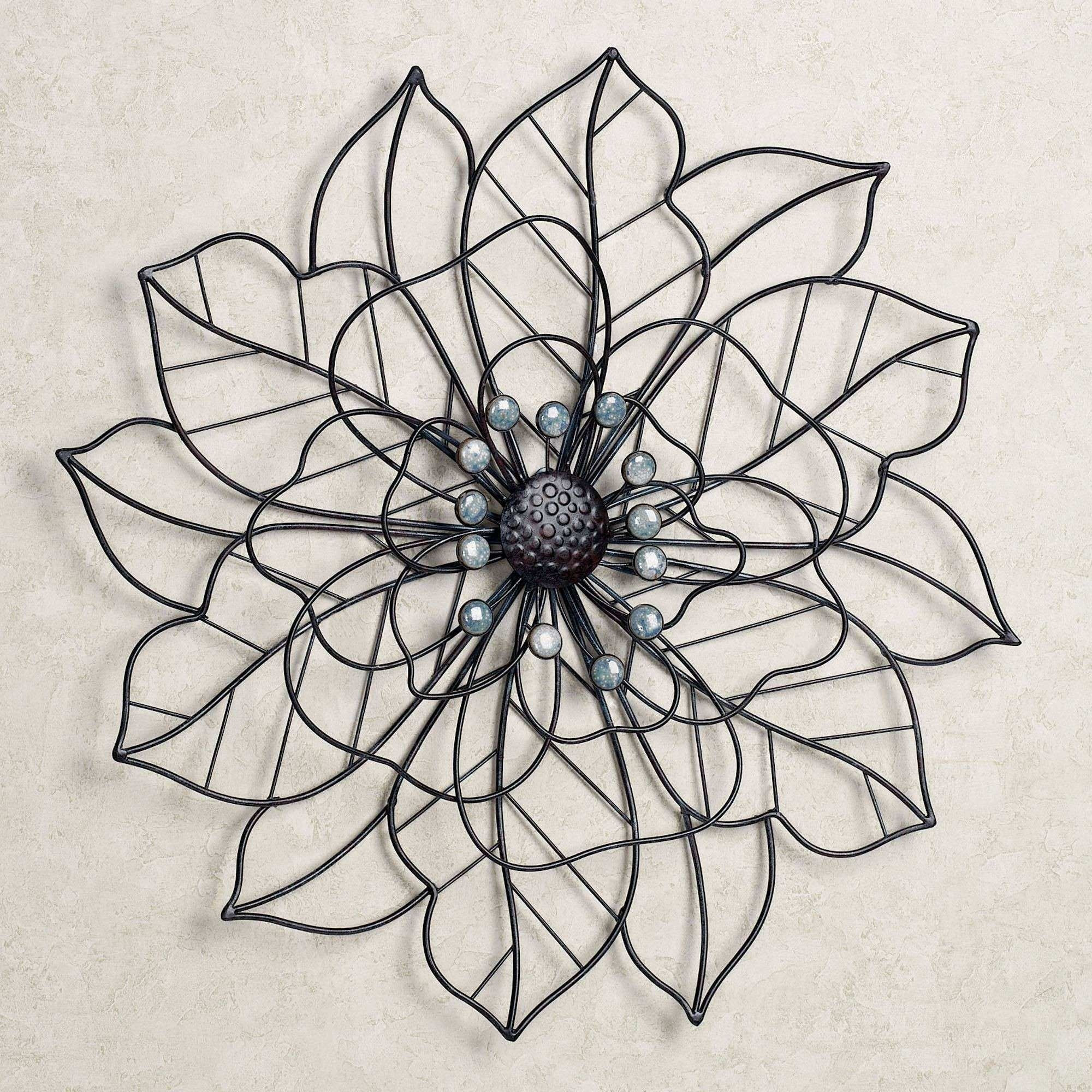 Outdoor Metal Flower Wall Art Best Of Beauty In Bloom Flower Blossom Within Metal Flower Wall Art (View 10 of 20)