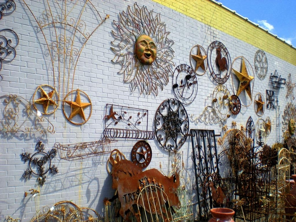Outdoor Metal Wall Decor Design Sathoud Decors Diy Iron Art Within Outdoor Wall Art Decors (View 7 of 20)