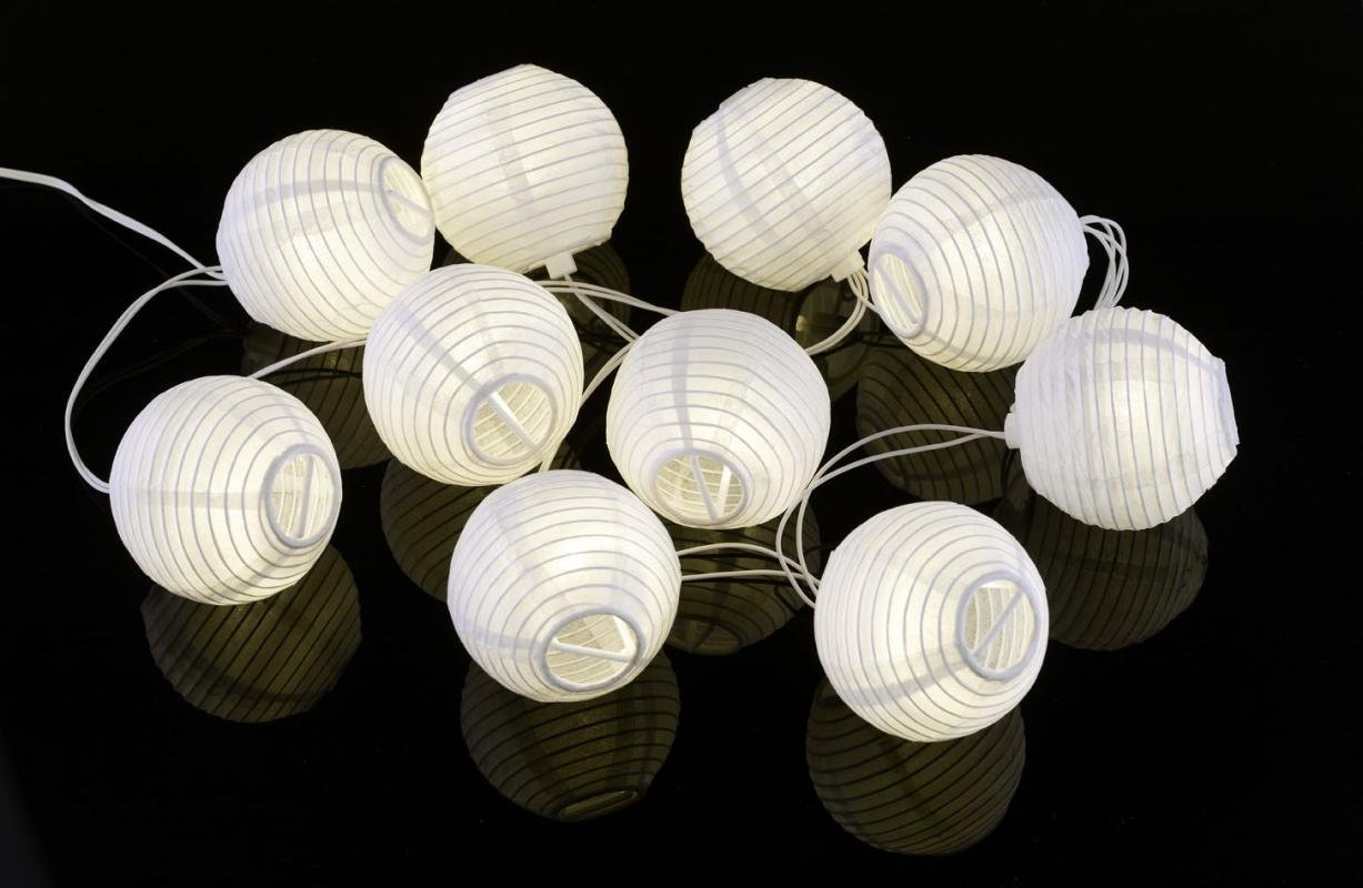 Outdoor Paper Lantern String Lights – Outdoor Lighting Ideas Inside Outdoor Paper Lanterns For Patio (View 7 of 20)
