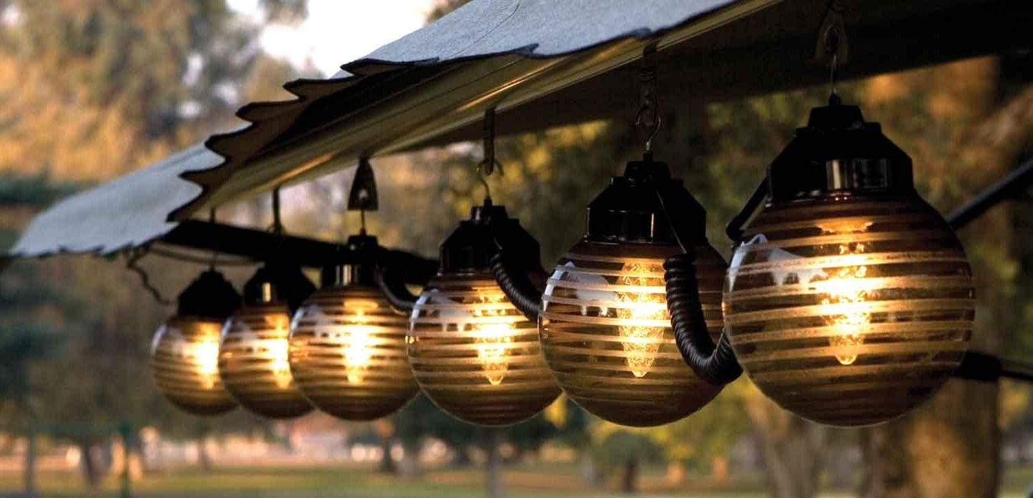 Outdoor Patio String Lighting 31 Creative Lights Pergola pertaining to Outdoor Lawn Lanterns (Image 13 of 20)