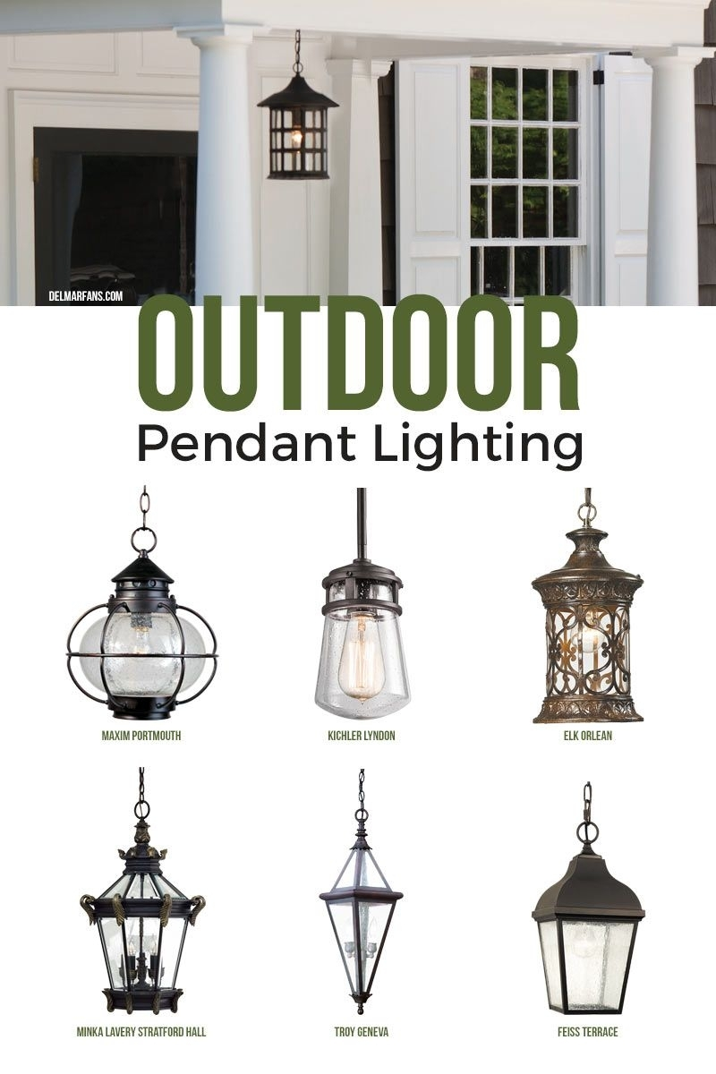 Outdoor Pendant Lighting, Commonly Called A Hanging Porch Lantern inside Outdoor Empty Lanterns (Image 11 of 20)