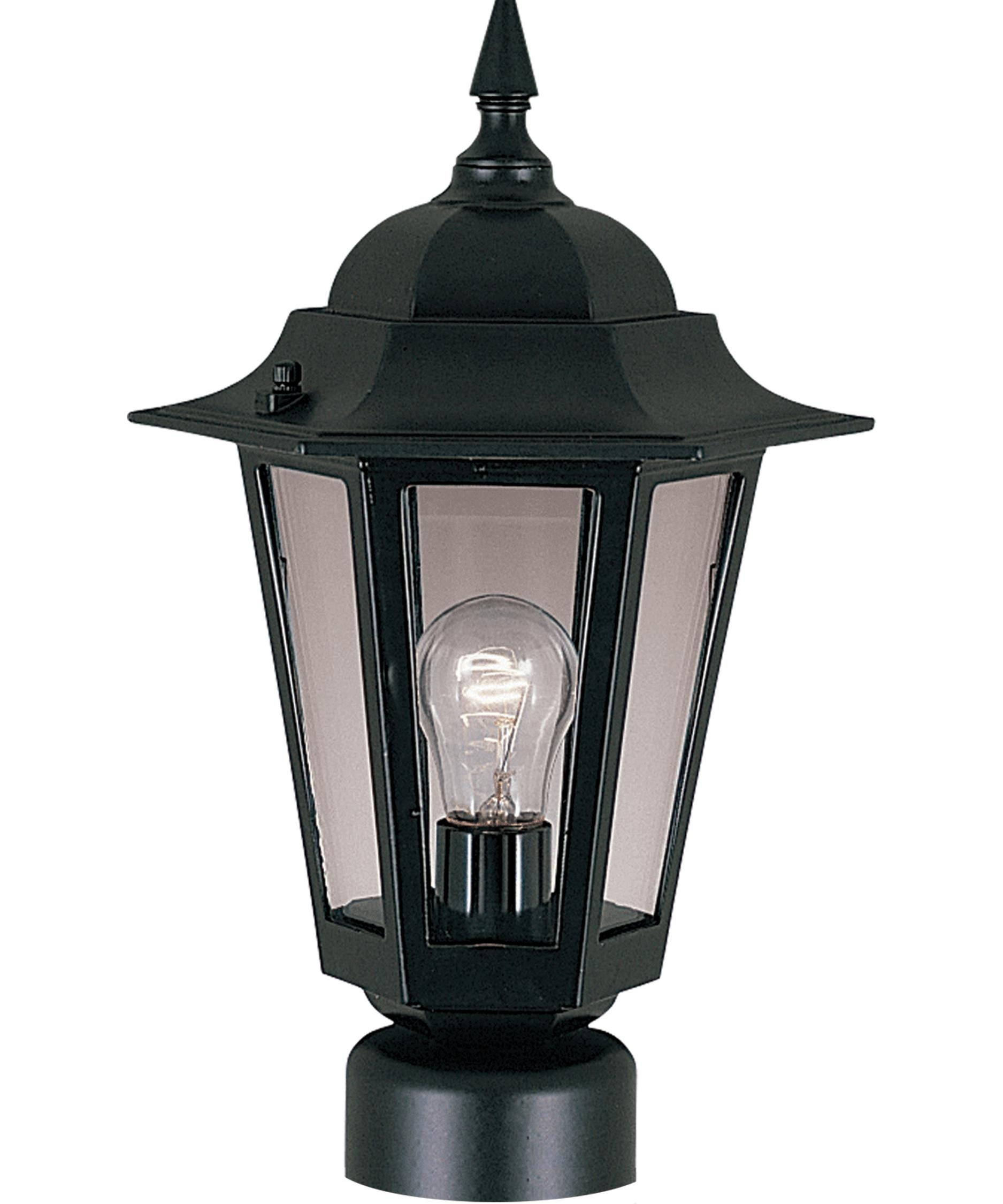 Outdoor Post Lamps & Post Lighting: Led, Incandescent | Capitol Pertaining To Outdoor Mexican Lanterns (View 17 of 20)