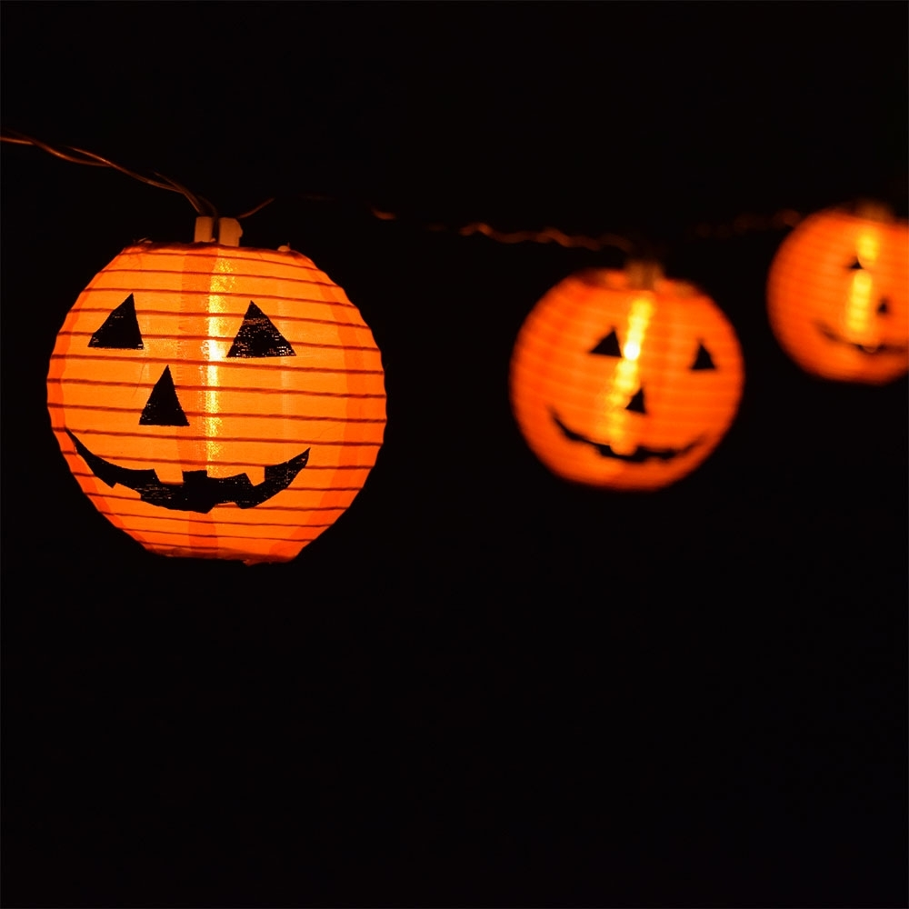 Outdoor Pumpkin Lights - Outdoor Lighting Ideas for Outdoor Pumpkin Lanterns (Image 13 of 20)