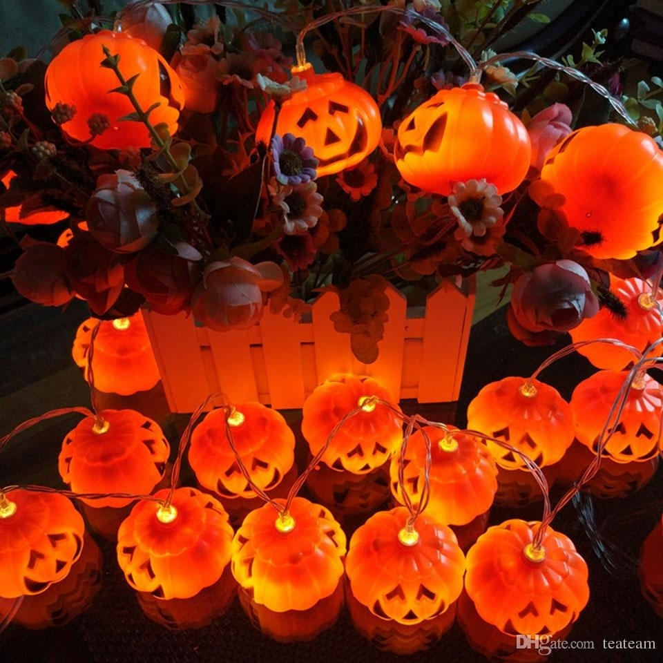 Outdoor Pumpkin Lights - Outdoor Lighting Ideas within Outdoor Pumpkin Lanterns (Image 14 of 20)