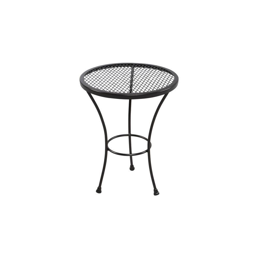 Outdoor Side Tables - Patio Tables - The Home Depot with regard to Jackson Marble Side Tables (Image 16 of 30)