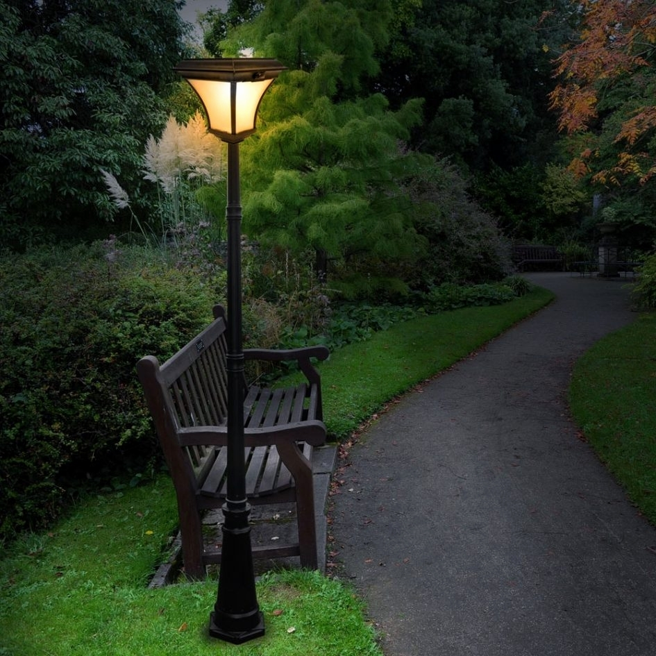 Outdoor Solar Lighting Ideas Fresh Gate Post Lamps Driveway Lights In Outdoor Ground Lanterns (View 17 of 20)