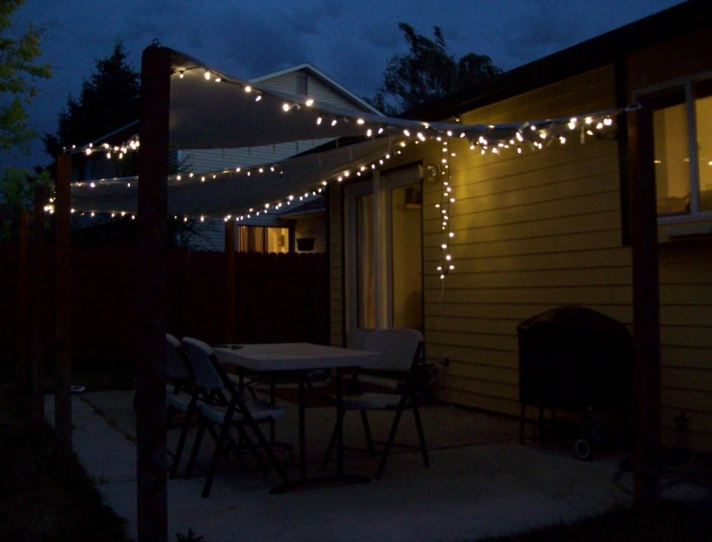 Outdoor String Lights Patio Ideas — The New Way Home Decor : Patio Intended For Outdoor Lawn Lanterns (View 14 of 20)
