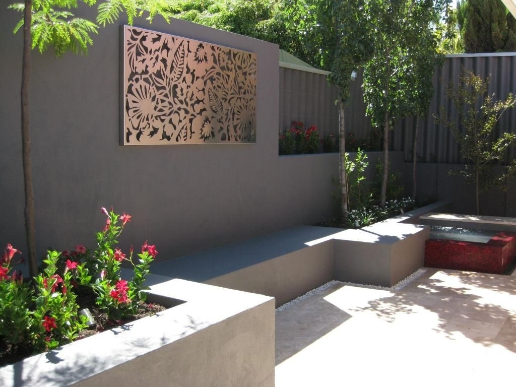 Outdoor Wall Art | Panels & Screens (Water/laser/plasma) | Pinterest with Outdoor Wall Art (Image 14 of 20)