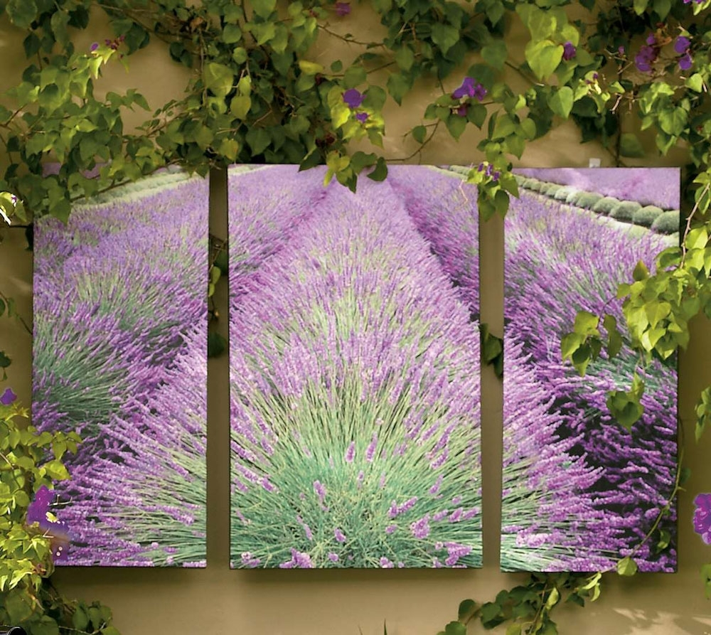 Outdoor Wall Art So That39S Cool Whimsical Garden Decor in Outside Wall Art (Image 12 of 20)