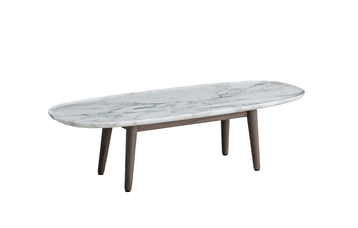 Oval Marble Coffee Table - Parson.co with regard to Parker Oval Marble Coffee Tables (Image 16 of 30)