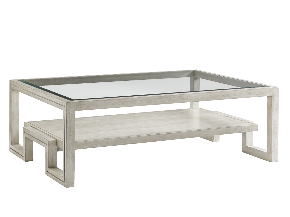 Oyster Bay Saddlebrook Rectangular Cocktail Table | Lexington Home throughout Element Ivory Rectangular Coffee Tables (Image 20 of 30)