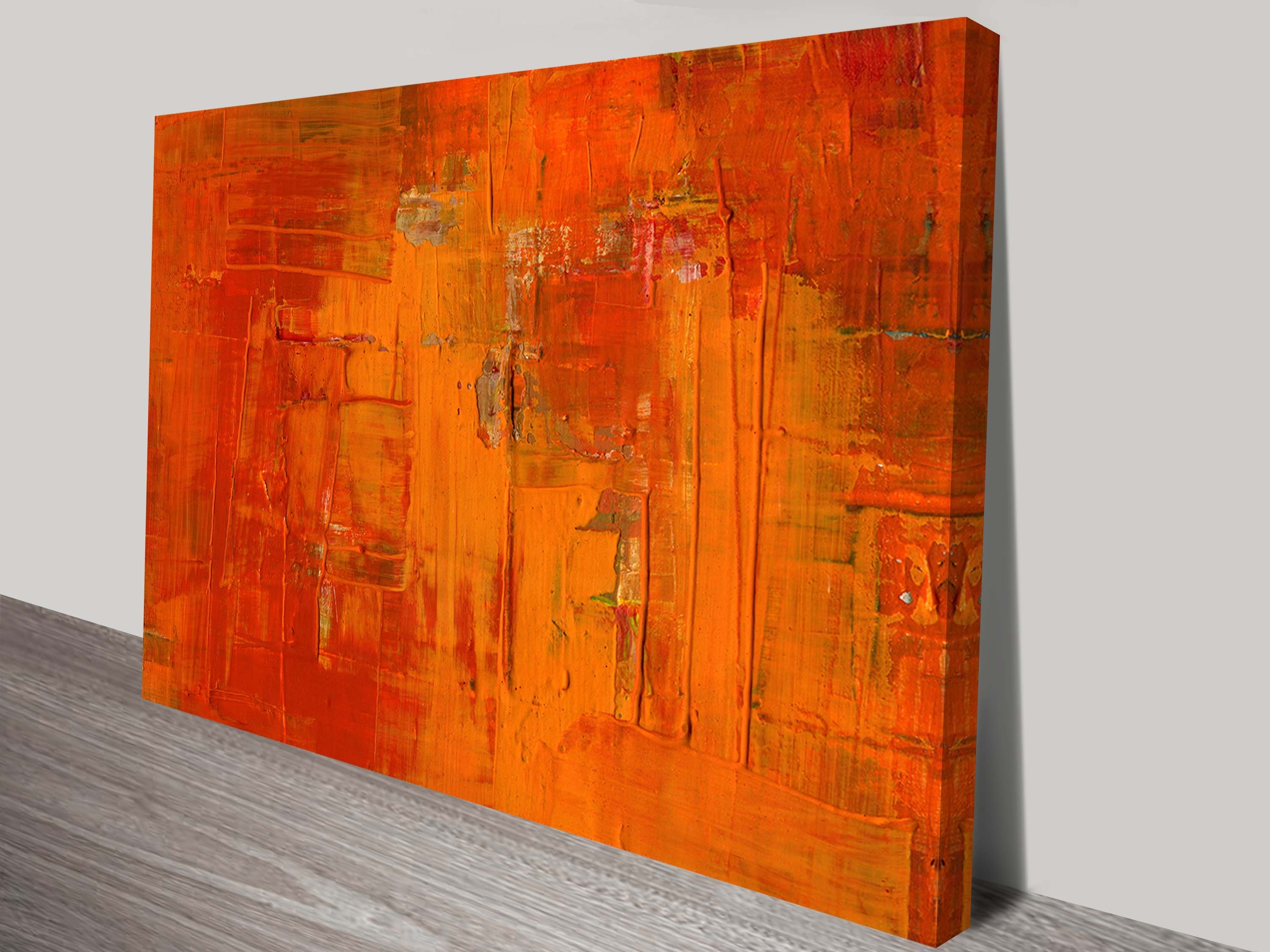 Painted Fire Abstract And Contemporary Art intended for Abstract Canvas Wall Art (Image 17 of 20)