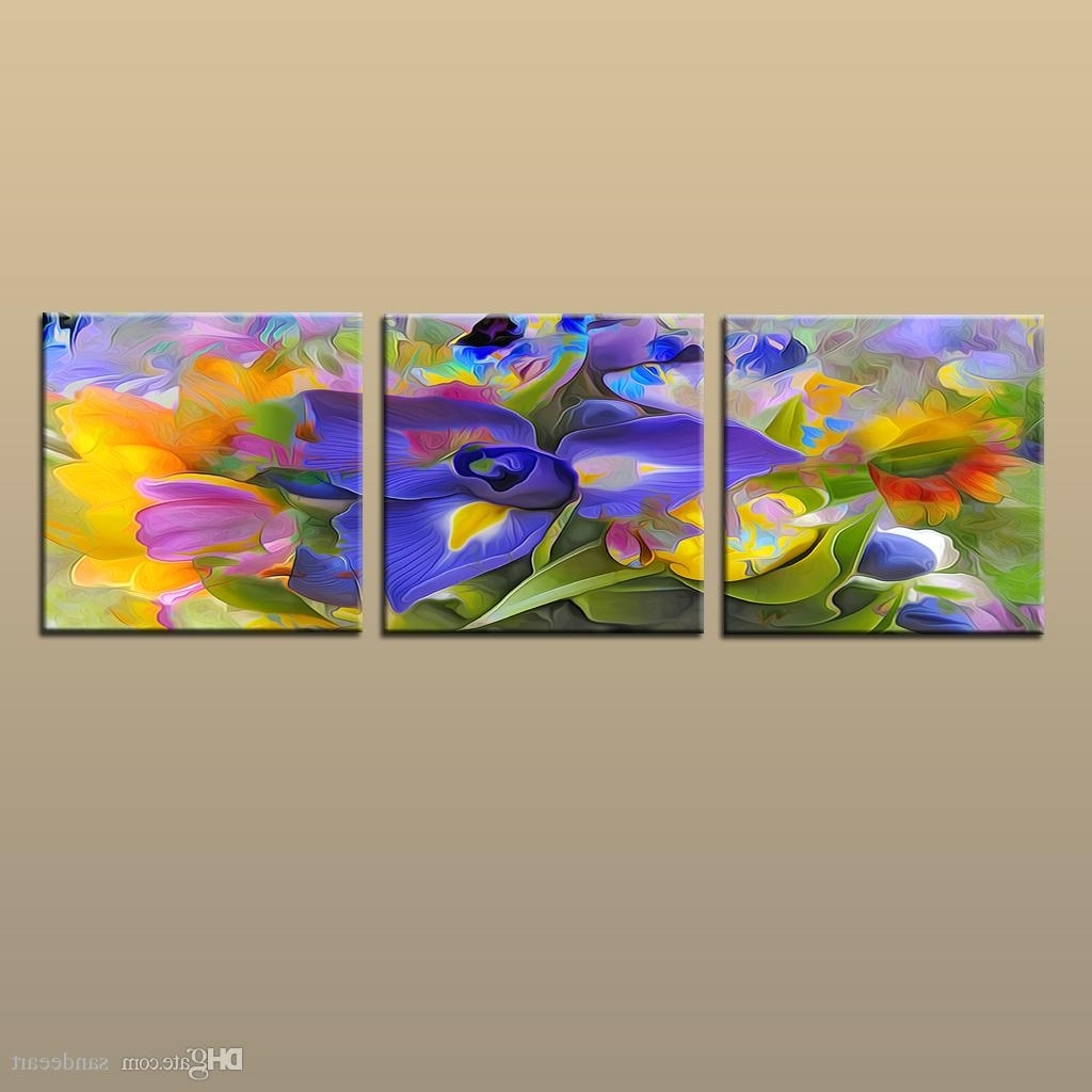 Painting Modern Art Canvas Discount Framed/unframed Large Modern In Discount Wall Art (Photo 4 of 20)