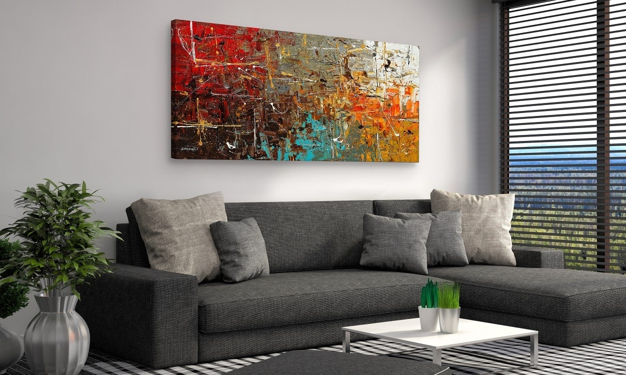 Paintings For Living Rooms How To Choose The Best Wall Art For Your within Overstock Wall Art (Image 6 of 20)