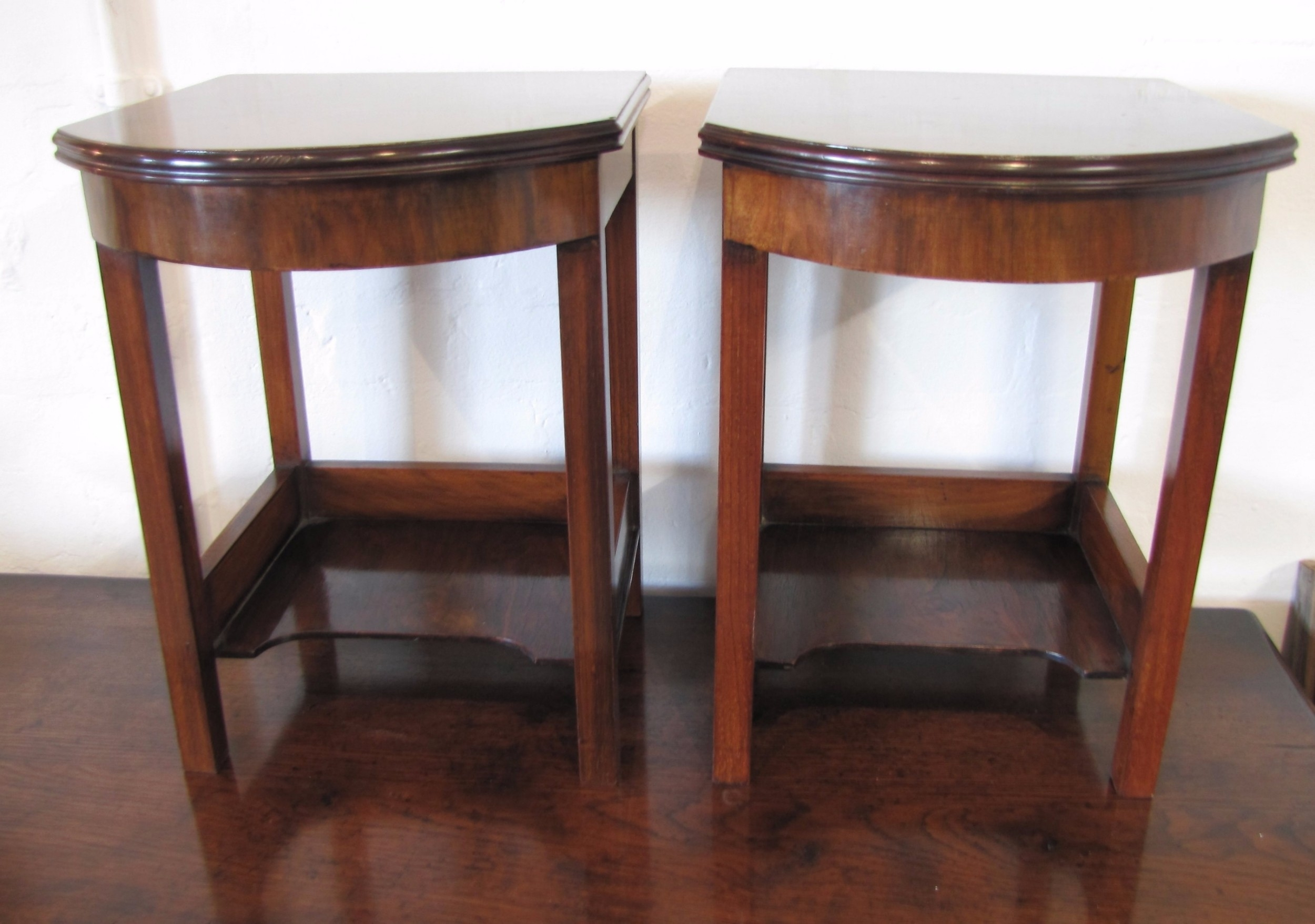 Pair Of Art Deco Side Tables | 507526 | Sellingantiques.co.uk with Antiqued Art Deco Coffee Tables (Image 29 of 30)
