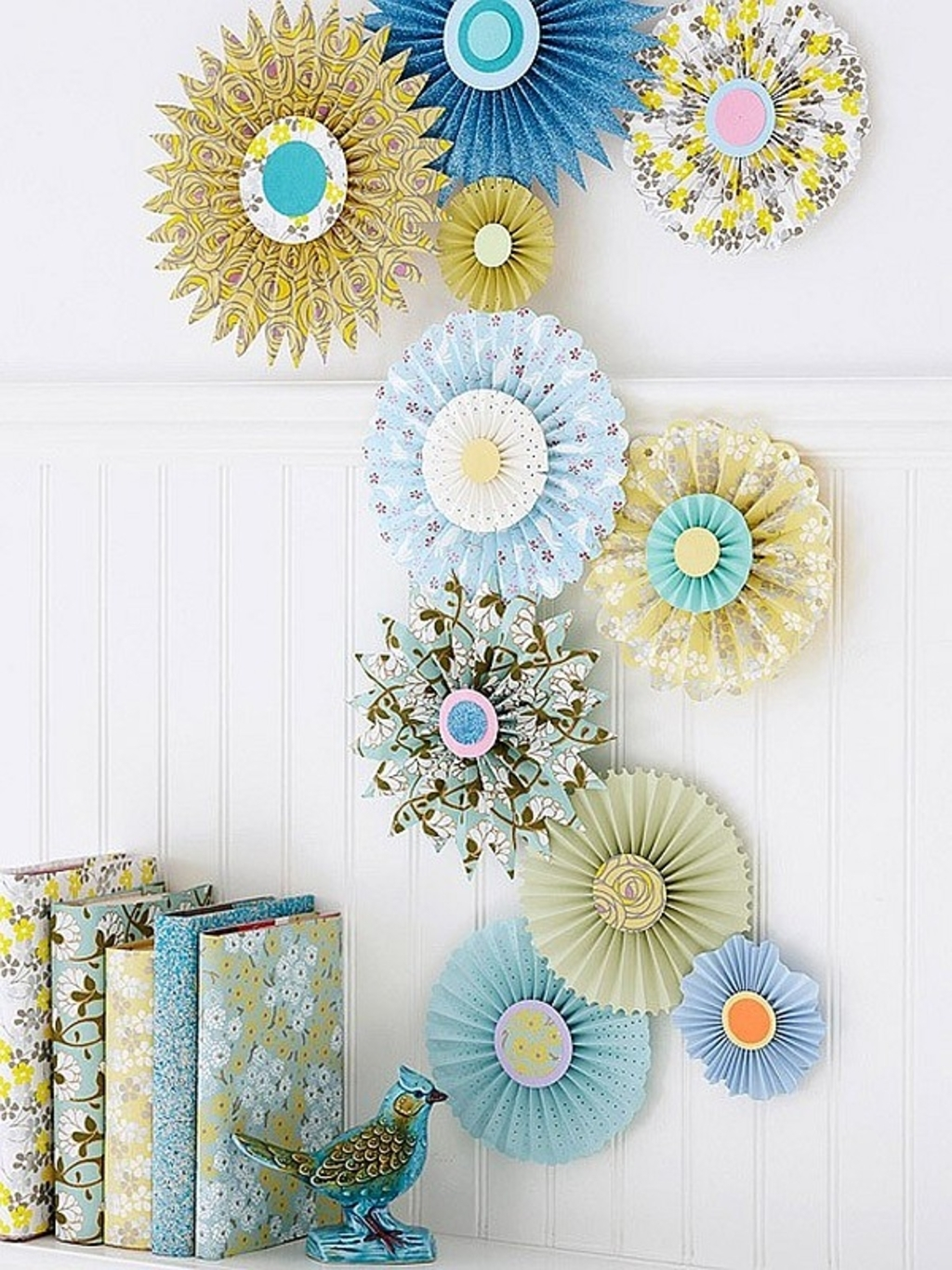 Paper Wall Art Crafts Paper Inspired Decor Fun Ways For You And Your Intended For Paper Wall Art (Photo 7 of 20)