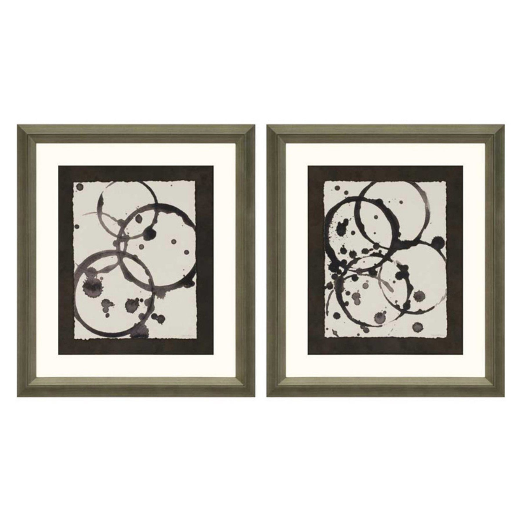 Paragon Decor Astro Burst Ii Framed Wall Art – Set Of 2 – 7943 Intended For Set Of 2 Framed Wall Art (View 11 of 20)