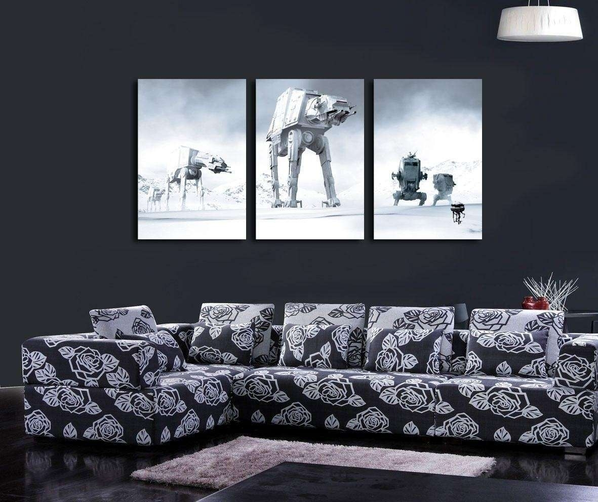 Particular Star Wars Home Decor Star Warshome Decor Star Wars Wall Regarding Star Wars Wall Art (View 7 of 20)